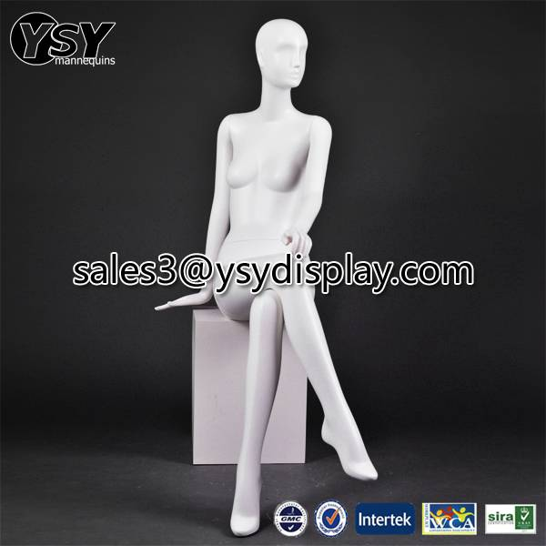 sitting female mannequin for sale
