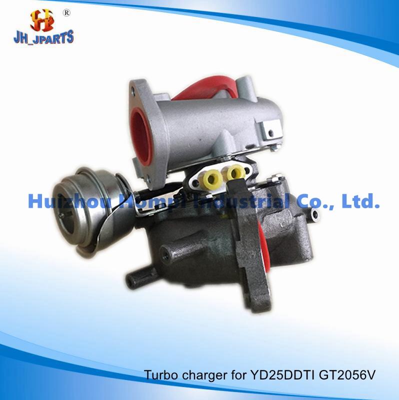 Auto Parts Turbocharger for Nissan Yd25ddti Yd25 Gt2056V Yd22/Zd30/Td27/Td42/Qd32/Fe6