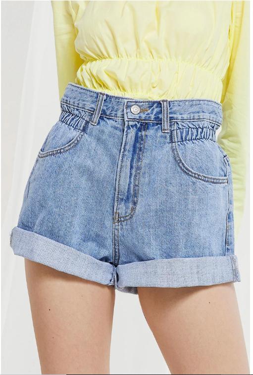 Valerie High Rise Denim Shorts