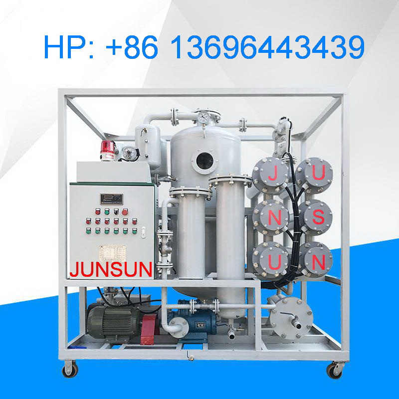 High-End Double-Stage High-Vacuum Dielectric Oil Purification Equipment/ Transformer Oil Filtration