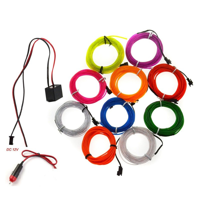 Electroluminescent EL Wire for Christmas Lighting Indoor and outdoor advertising and decoration