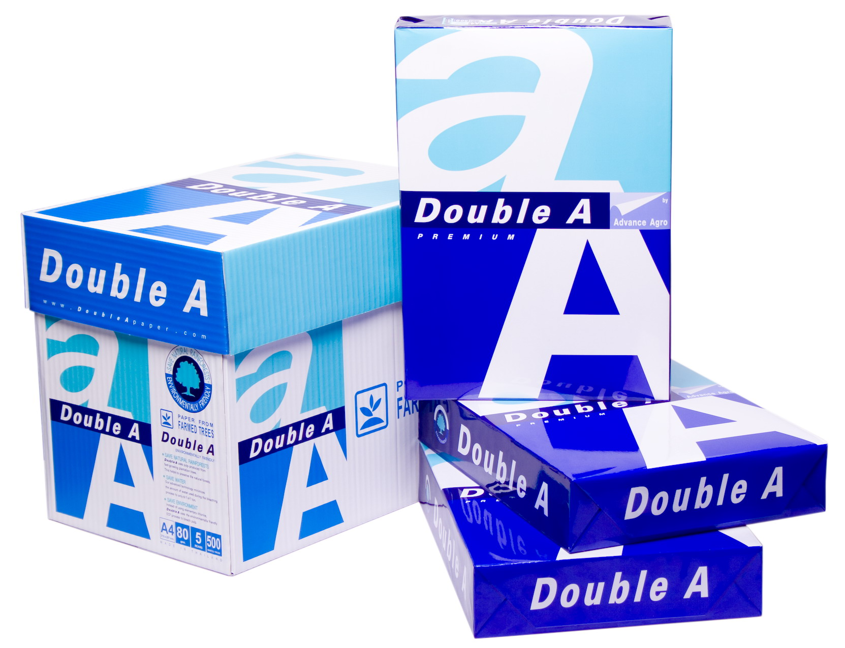 Double A,Paper One,Navigator,Aria A4 Copy Paper 80gsm