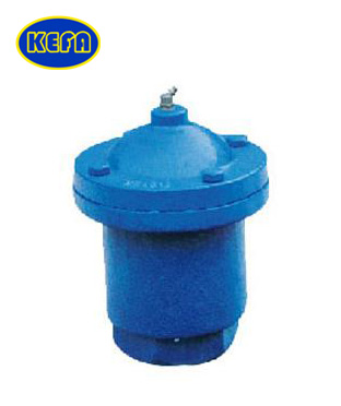 Thread single ball air release valve