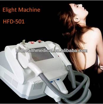 Portable E-light (IPL+RF) Hair Removal Acne Treatment Machine