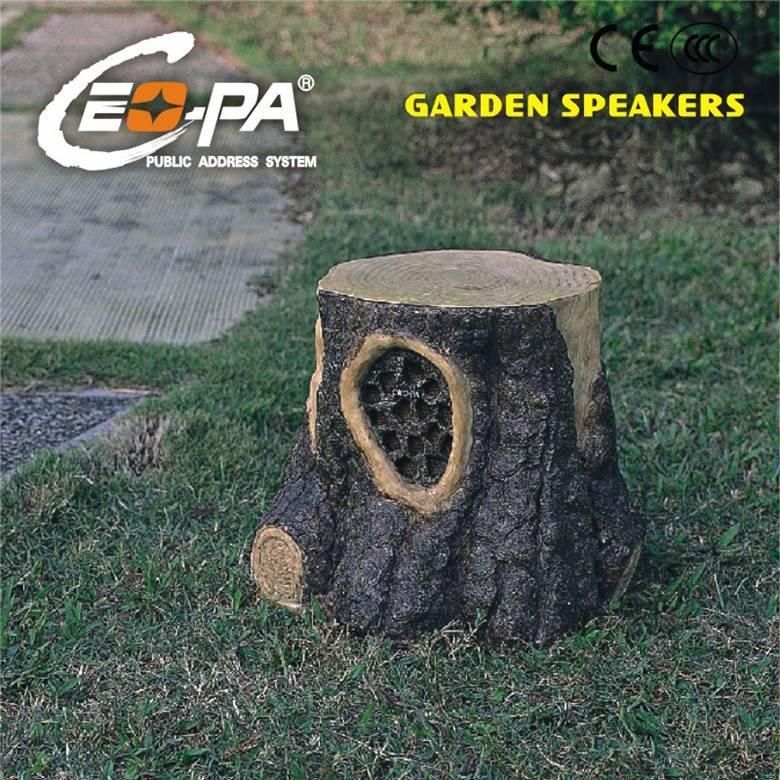 PA System Stump Shape Garden Speaker