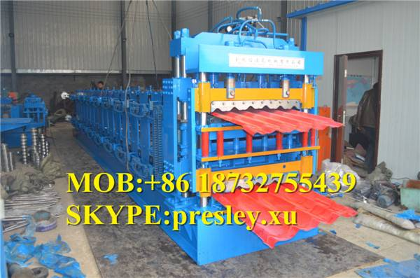 IBR Color Metal Roof And Wall Sheet Cold roll forming Machine Metal Roofing