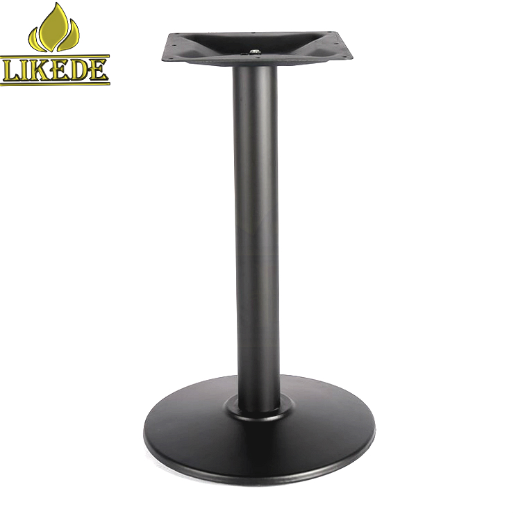 Cheap high quality dining table base metal cast iron table leg