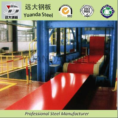 Building Materias of PPGI steel coil From China