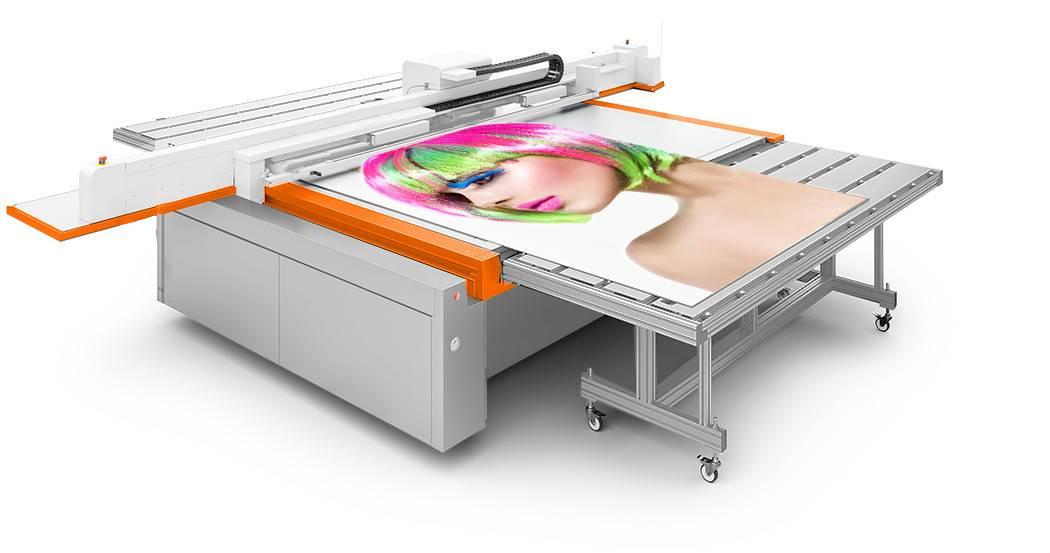 uv flatbed uv printer