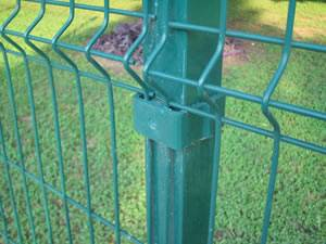 Galvanized Welded Wire Mesh Fence