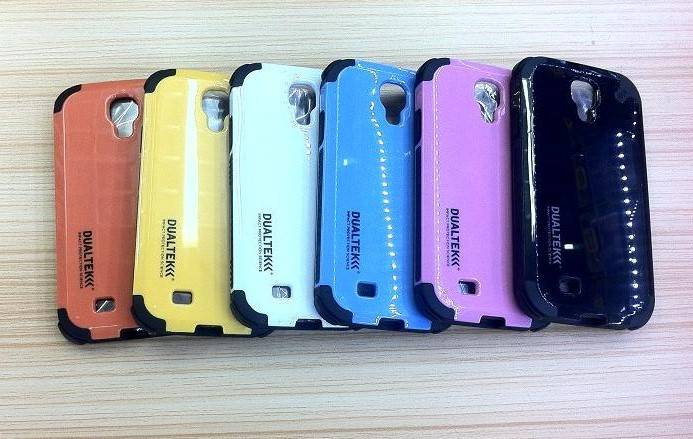 Dualtek phone case for Galaxy S4 9500 with retail packing