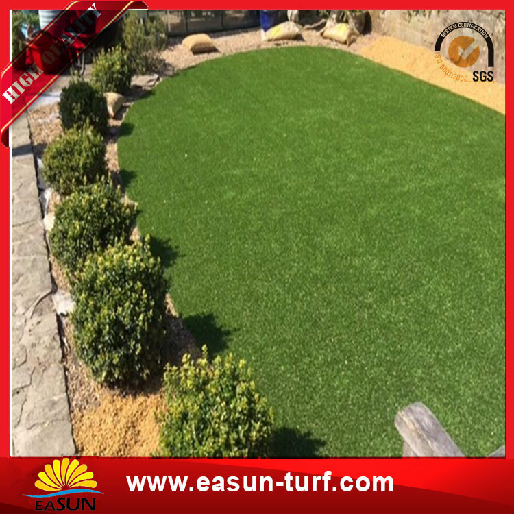 landscaping synthetic turf grass lawn decorative artificial grass turf for garden-Donut