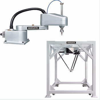 High speed light load of the parallel robot arm for food packaging production line