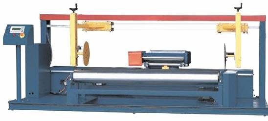 Stretch Wrapping Machine For Fabric Roll (ST-SWM-I)