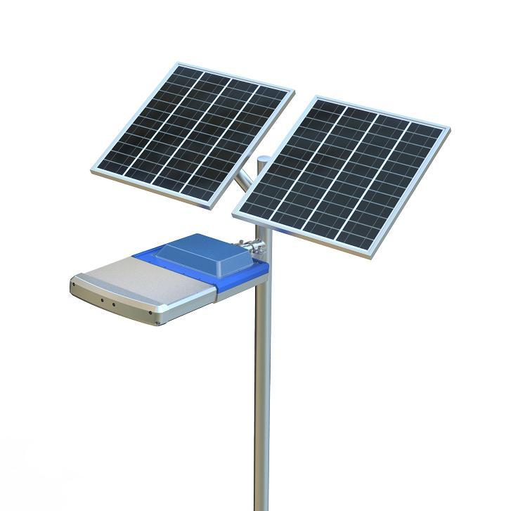 100W integrated public lighting solar led street light solar garden light