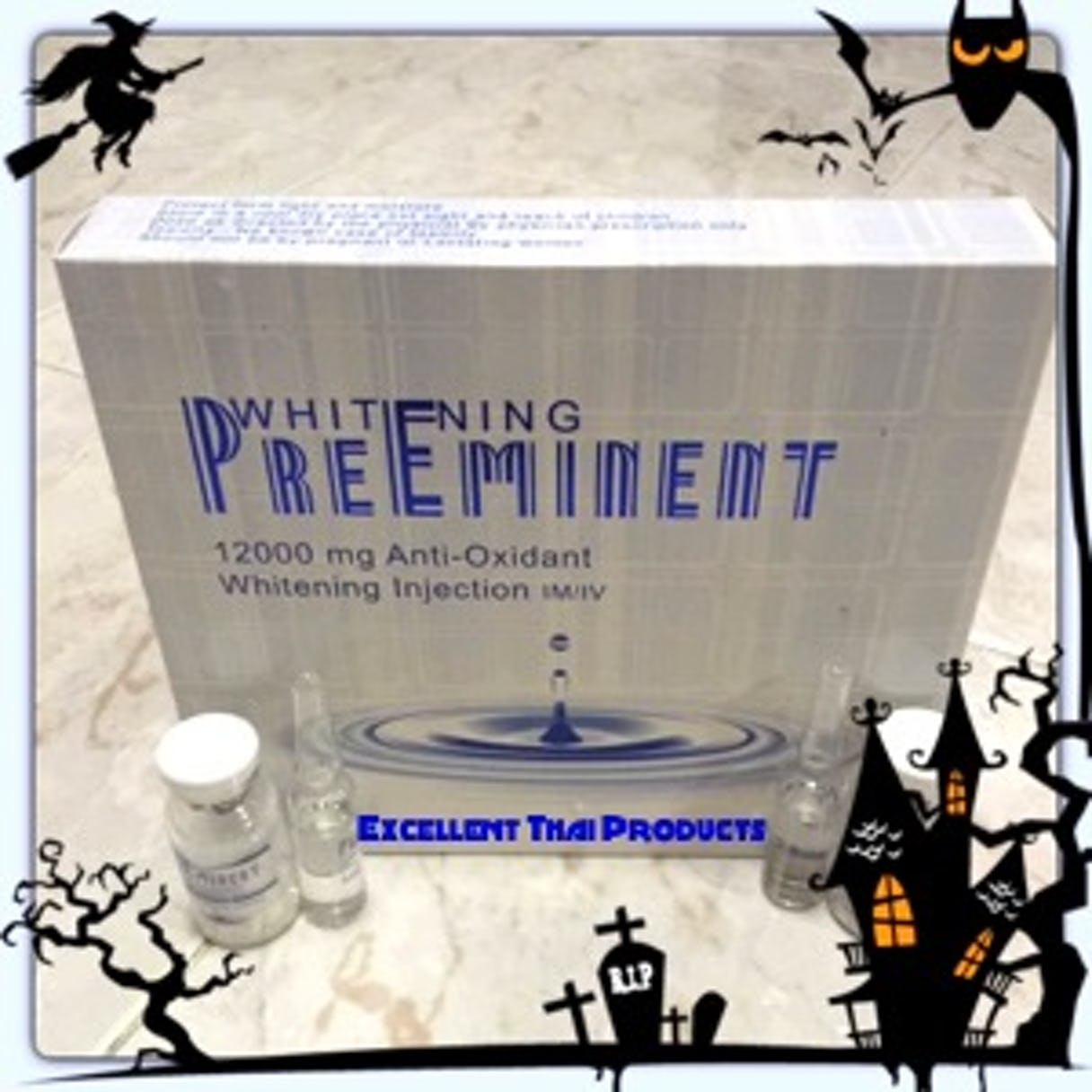 PreEminent 12000MG. ANTI-OXIDANT WHITENING INJECTION (USA)