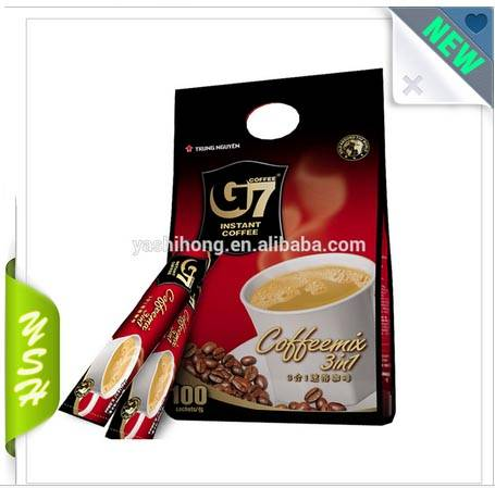 coffee packaging bag with zipper