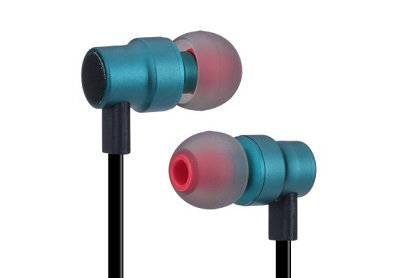 metal earphone, metallic earphone, metel telephone headsets with line control  E1263