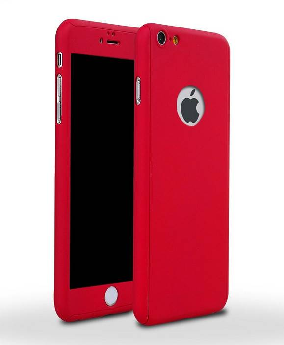 Full Body Protective PC Case for iPhone 6/6S