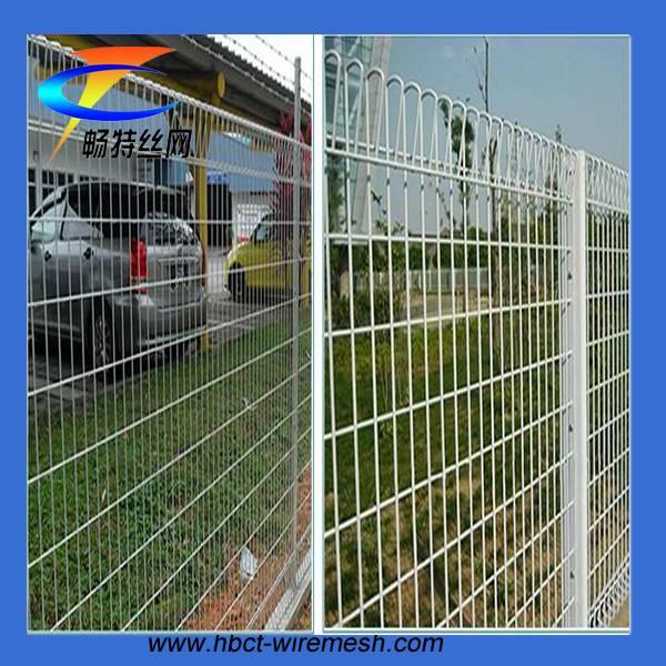 Hot dip galvanized triangular bending fence garden fence