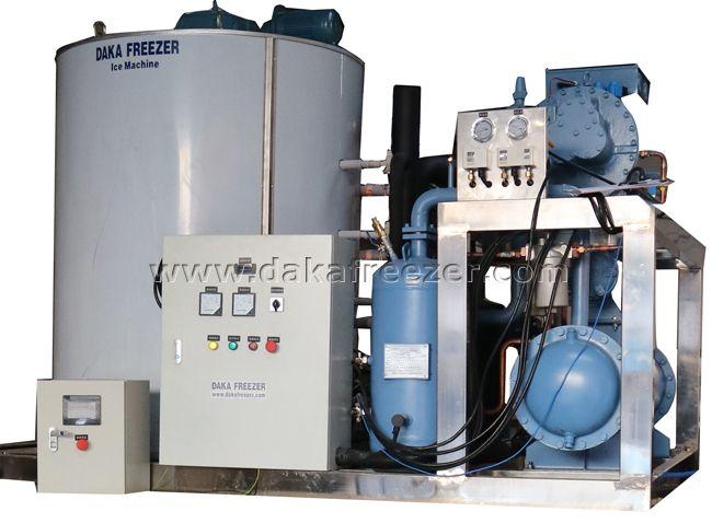 Flake Ice Machine 40 T Per Day,simple structure ice Flake Ice Machine,stable performance Flake Ice M
