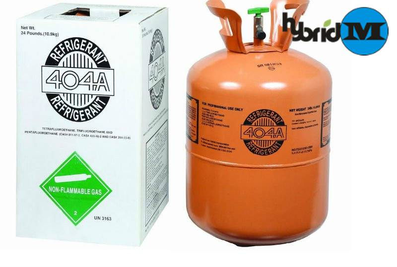 Hybridm Refrigerant gas r404a net weight 10.9kg