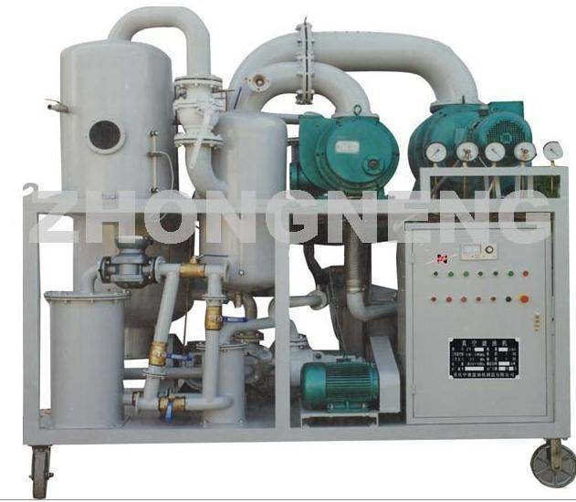 Double-stage highly vacuum insulating oil regeneration purifier ( Mobile: 0086-13638304669 )