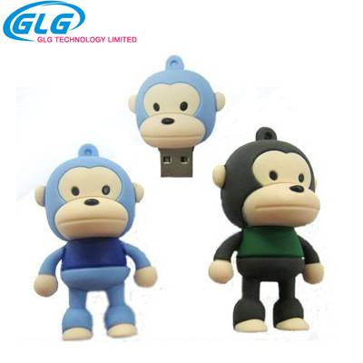 2016 Real Capacity Cartoon Character 8GB USB Flash Drive Customized Logo USB Flash Drives