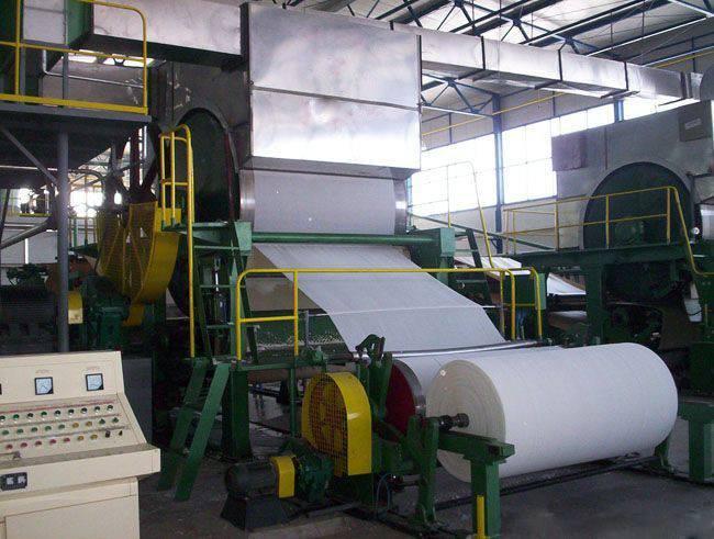 Coating white board paper making machine