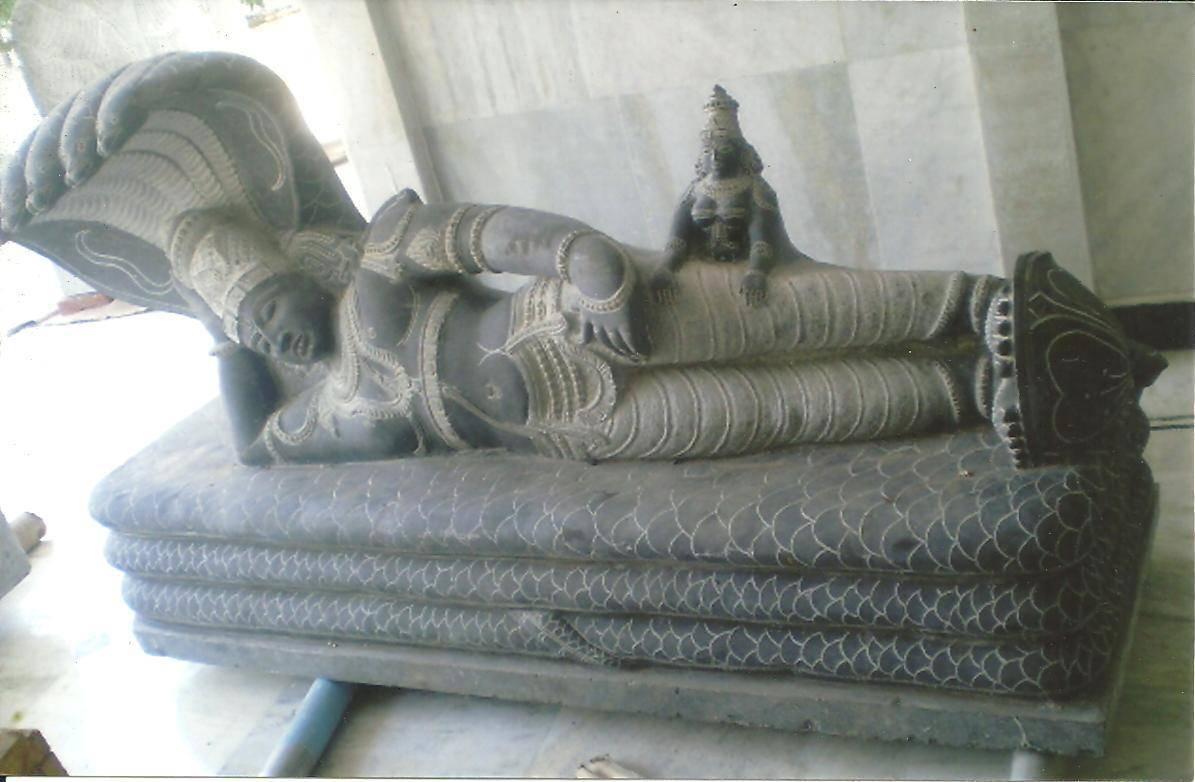 Lord Maha Vishnu in Anantha Sayanam