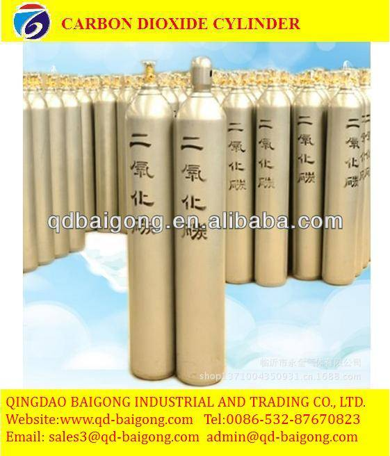 industrial seamless steel carbon dioxide CO2 gas cylinder price