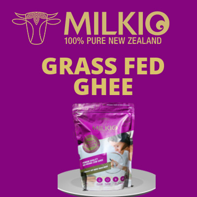 Milkio Grass fed ghee 750 ml pouch