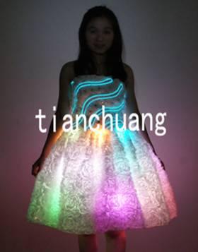 LED Light Luminous Dress