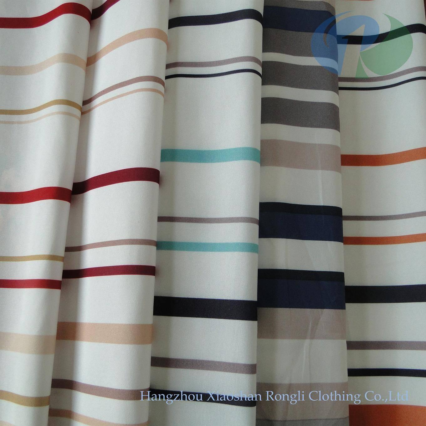 home stripe polyester woven printed mattress ticking RLP065~070