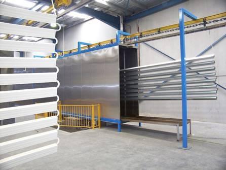 Aluminium Profile Powder Coating Line