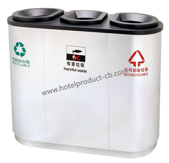 stainless steel trash can manufacture