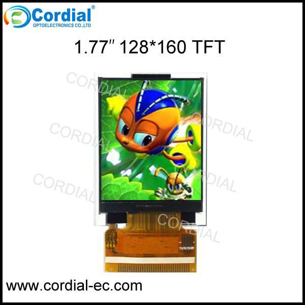1.77 inch 128x160 TFT LCD MODULE CT018BDE05