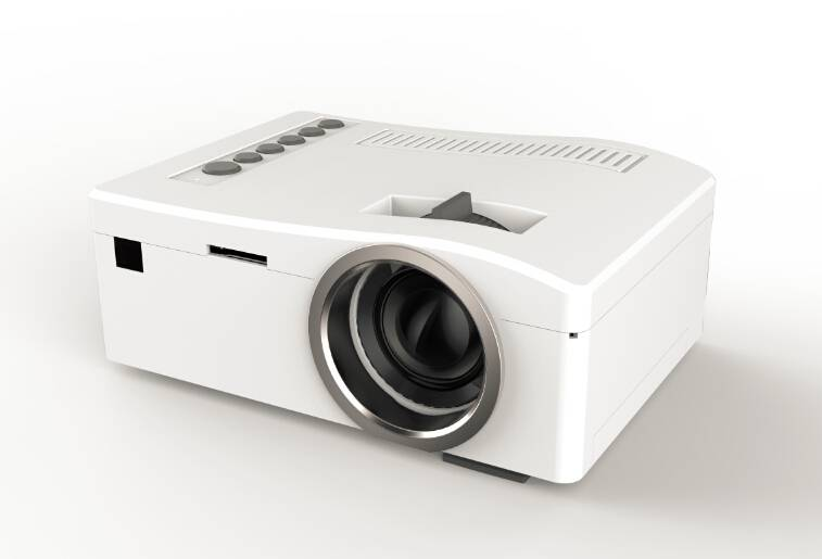 UNIC UC18 Home theater projector, multiple media system, optional 7.4V/1000mAh Li-ion battery