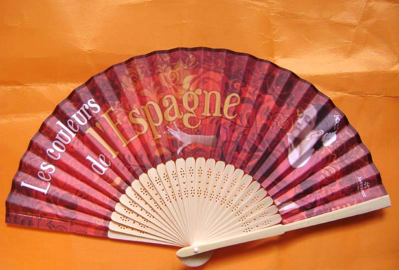 Promotion hand fan for events