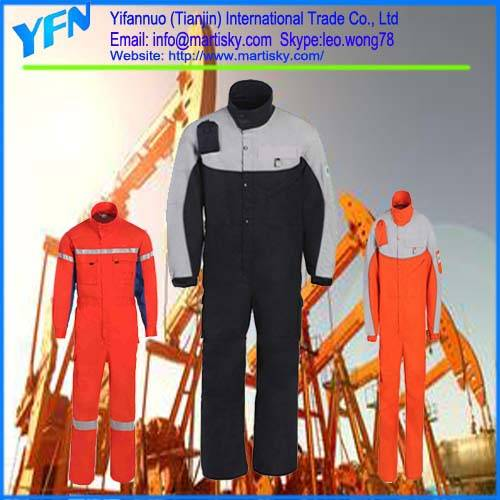 Professional manufacturer High Quality Fire Retardant Protective Work Clothes
