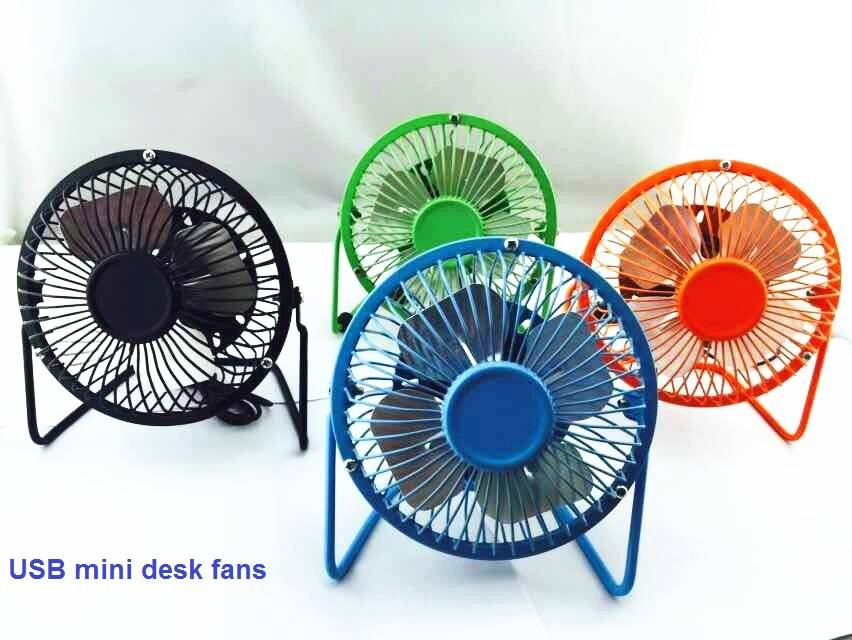 USB desk fan 4""