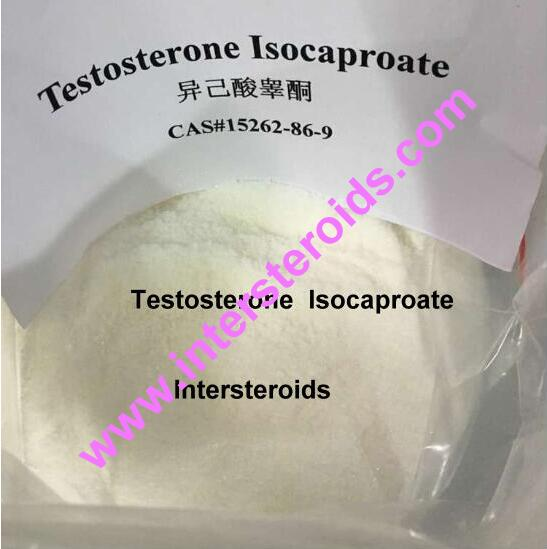 Testosterone Isocaproate Raw Material Powder CAS: 15262-86-9