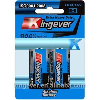 Super Power 1.5V C AM-2 LR14 alkaline dry cell battery