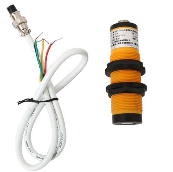 Ultra small ultrasonic level transmitter