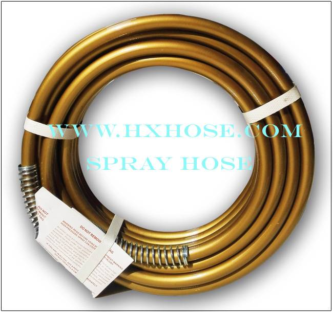 "1/4"" x 50"" 3300PSI Airless Paint Spray Hose for Most Airless Paint Sprayers"