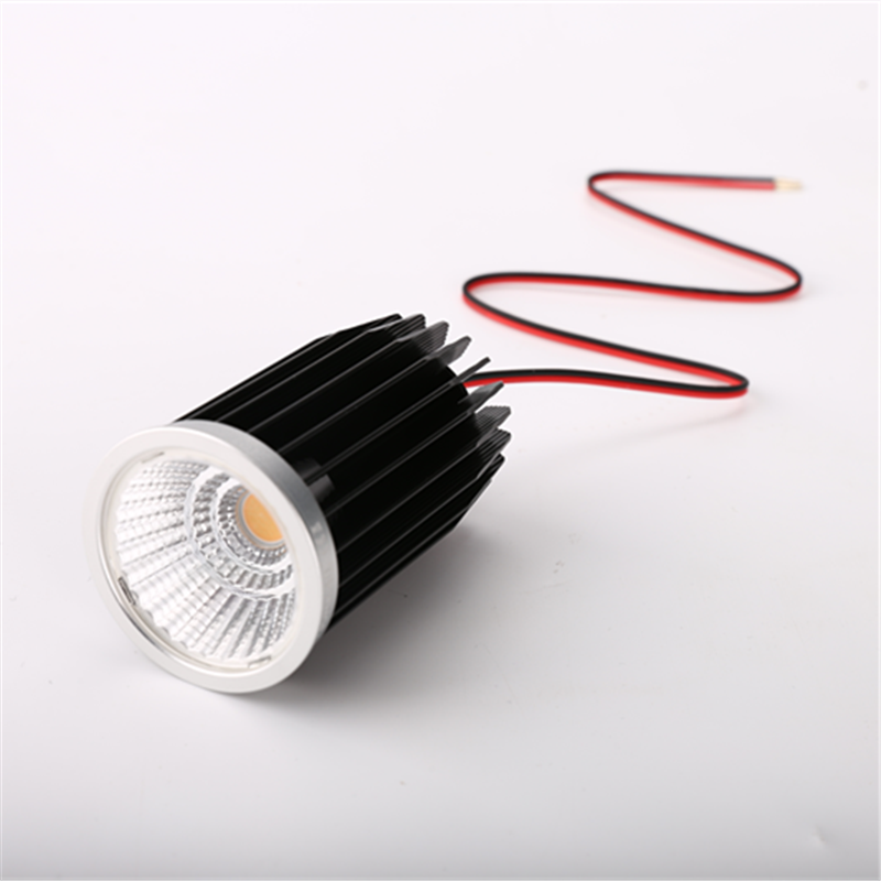 Excellent 10w CRI97 mr16 gu10 bridgelux cob led spot downlight module