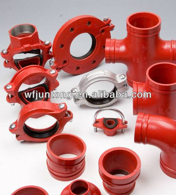 UL certification Grooved pipe fittings and couplings