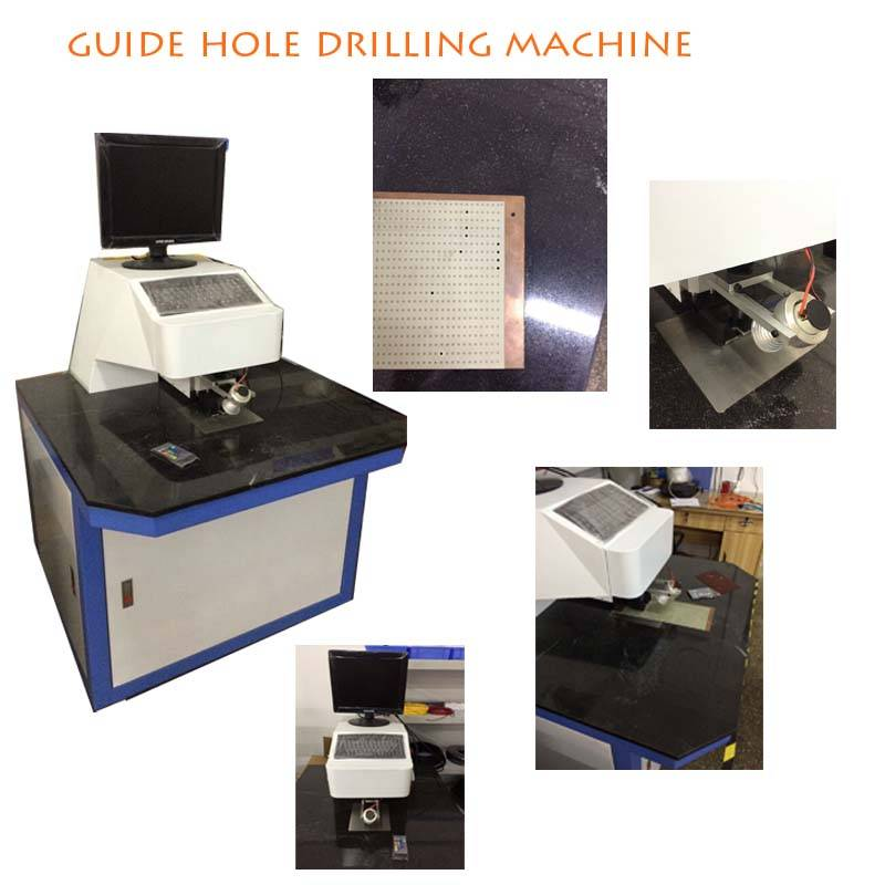 Manual drilling machine target drilling machine china low cost guide hole drilling machine