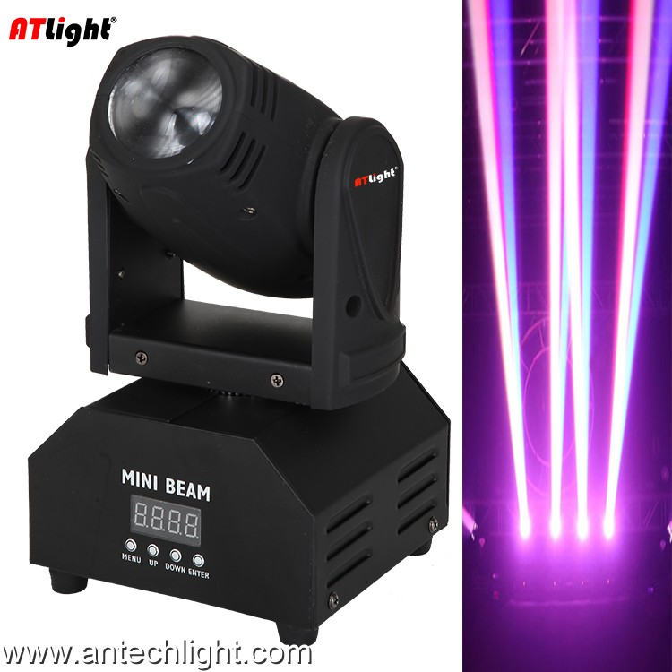 10W RGBW full color 4 in 1 LED moving head light ATM10M