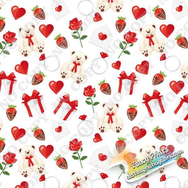 Minky fabric Christmas gift digital print